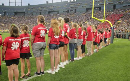 "Packers Family Night Tradition a ""Magical Day"" for Wisconsin 4-H"