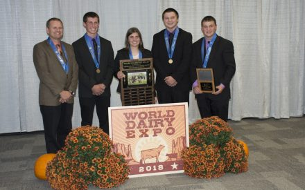 Wisconsin 4-H Dairy Youth Win National Contest!