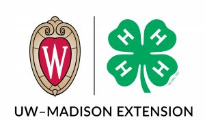 UW-Madison Division of Extension logo and 4-H logo