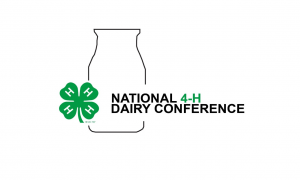 national 4-H dairy conference logo