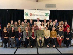 2019-2020 4-H leadership council