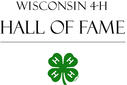 Wisconsin 4-H Hall of Fame Logo